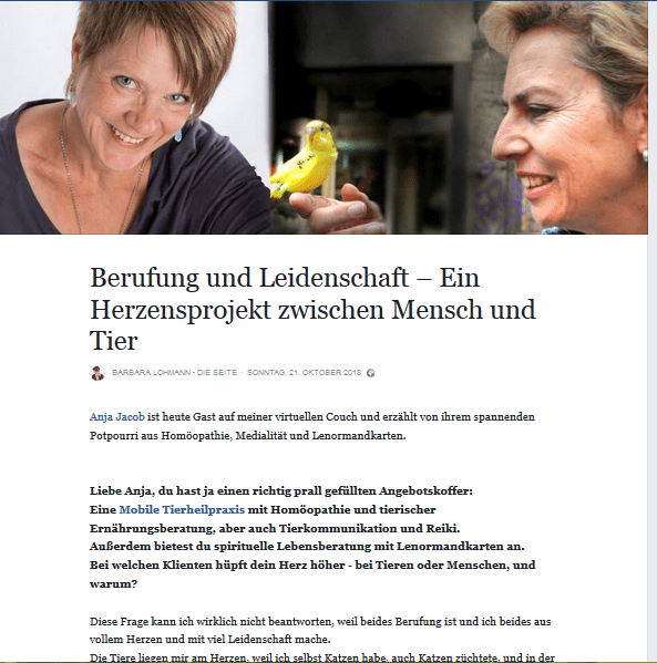 Anja Jacob Schlüsselfragen Interview